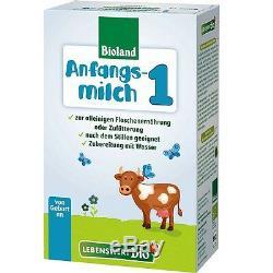 Holle Lebenswert Stage 1 Organic Baby Formula 10 Boxes 500g Free Shipping
