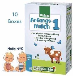 Holle Lebenswert Stage 1 Organic Formula, 10/2019 FREE SHIPPING 10 BOXES