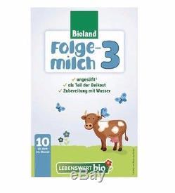 Holle Lebenswert Stage 3 Organic Formula, 09/2019,10 BOXES FREE SHIPPING