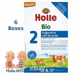 Holle Stage 2 Organic Formula 12/2019 600g 6 BOXES FREE SHIPPING