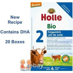 Holle Stage 2 Organic Infant Formula 20 Boxes 600g Free Shipping