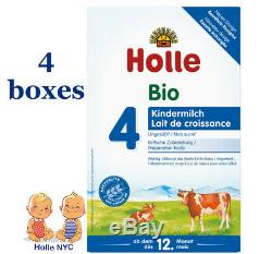 Holle Stage 4 Organic Formula 4 Boxes 600g Free Shipping