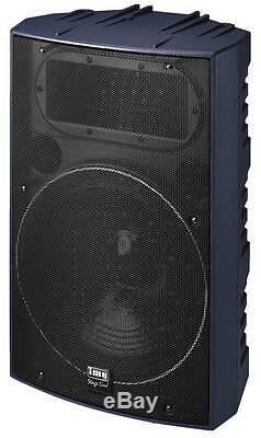 IMG Stage Line PAB-515/BL Profi-PA-Lautsprecherbox 8 Ohm-der 500er-Serie
