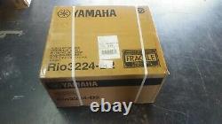 In Stock! Yamaha Rio3224-D2 32x24 Dante Stage Box (B Stock)