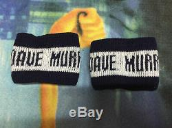 Iron Maiden X2 Dave Murray Stage Worn Custom Tour Wristband S Spain Two Rare Box