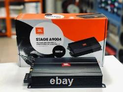 JBL Stage A9004 880W 4 Channel Amplifier for Speakers or Subwoofer, Bass Box
