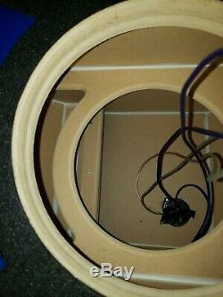 JL Audio 12w7-3 AeAnniversary Edition Competition Sub with Jlw7 ported stage4box
