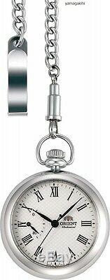 Japanese Pocket Watch ORIENT WV0031DD WORLD STAGE Collection with Retailed Box