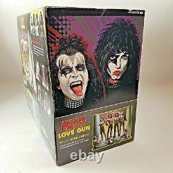 KISS Love Gun Deluxe Boxed Edition Super Stage Figures 2004 McFarlane