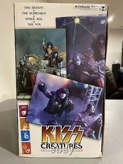 Kiss Creatures Limited Special Edition Boxed Set Super Stage Figures SEALED NIB