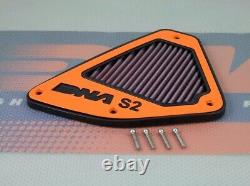 Ktm 690 Duke R Abs Dna High Performance Stage 2 Air Box Filter Cover LID 2012