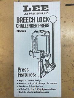 LEE BREECH LOCK CHALLENGER SINGLE STAGE PRESS NEW IN BOX Model #90588