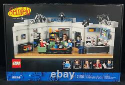 LEGO 21328 Ideas Seinfeld Tv Stage, 5 Mini Figures! New Sealed! Ready to Ship