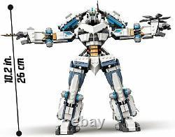 LEGO 71738 NINJAGO Legacy Zanes Titan Mech Battle Season 5 Building Toy Playset