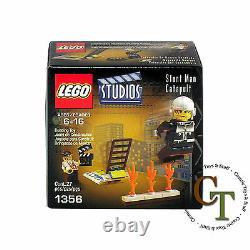 LEGO Studios Stunt Man Catapault (1356)