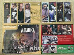 METALLICA Harvester of Sorrow Stage Box Set from McFarlane Toys NEW In Box