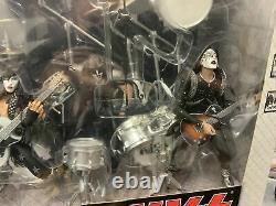 McFarlane Kiss Alive Figures Boxed Set Stage Instruments Lighting New NIB 2002