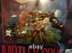 McFarlane Motley Crue Shout At The Devil Deluxe Box Set Figures & Stage UNOPENED