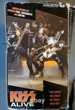McFarlane Toys Kiss Alive Deluxe Box Set Super Stage Limited Edition NEW