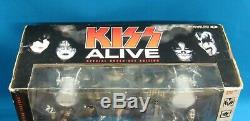 McFarlane Toys Kiss Alive Super Stage Action Figure Box Set 2002 New in Box