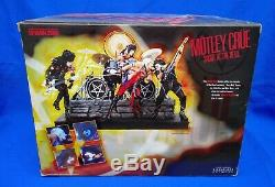 McFarlane Toys Motley Crue Shout at the Devil Deluxe Box Set Figures with Stage
