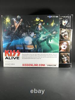 Mcfarlane Limited Edition Box Set Kiss Alive with Stage