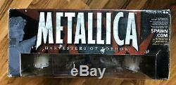 Metallica Harvester Of Sorrow McFarlane Action Figures & Stage Sealed Box 2001