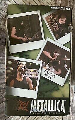 Metallica Harvester Of Sorrow McFarlane Action Figures & Stage Set Boxed 2001