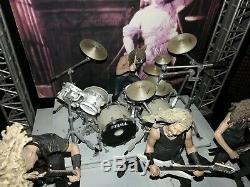 Metallica Harvesters of Sorrow Boxed Figure Stage Set McFarlane NIB New In Box