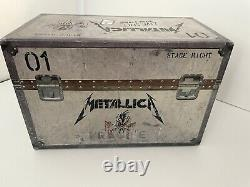 Metallica Live Shit Binge & Purge Box Set Booklet Cds Vhs Stage Pass Stencil New