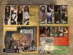 Metallica Mcfarlane Toys Harvesters Of Sorrow Super Stage Figures Deluxe Box Set
