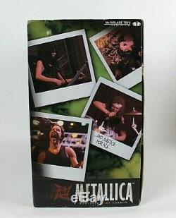 Metallica Super Stage Figures By McFarlane Toys New Old stock sealed in box