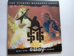 Michael Schenker Group MSG Walk the Stage the Official Bootleg Box Set CD DVD