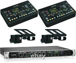 Midas HUB4 Monitor System Hub 4 Personal Mixers Stage Boxes, 2x DP48, 2x DP48MB