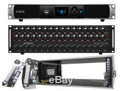 Midas M32C 40 Input Channels Digital Rack Mixer, DL32 Stage Box & Flight Case