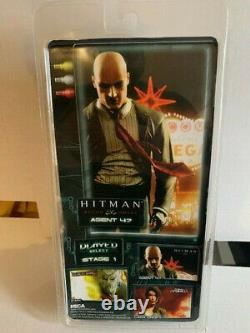 NECA Hitman Agent 47 Blood Money Stage 1 Figure New In Box with Accessories