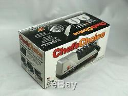 NEW In Box Chef's Choice EdgeSelect Model 15 Trizor XV 3-Stage Knife Sharpener