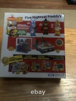 NEW McFarlane Five Nights at Freddys The Toy Stage Construction Set FNAF