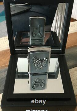 NEW ZIPPO Gator On Stage In Mirror Box Limited Rare Lighter BNIB 251075