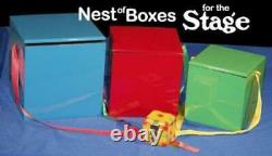 Nest of Wood Boxes 3, Colorful Stage