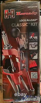 New In Box Hornady Lock-N-Load Classic Kit Single Stage Reloading Press 085003