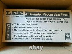 New In Box Lee Deluxe Automatic Processing Single Stage Press (90933)