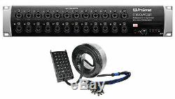 PRESONUS Studiolive 32R Stage Box for StudioLive Series III Mixers+Snake Cable