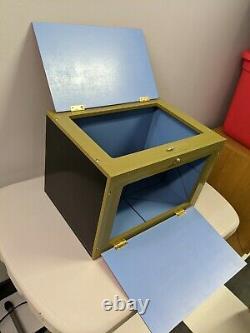 PROFESSIONAL MIRROR BOX magic makers stage illusion