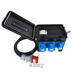Portable Distribution Board, Power Box, Stage, Event Distro, Splitter 63A-32A