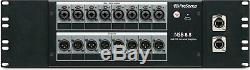 PreSonus NSB 8.8 8x8 AVB Networked Stage Box with8 XMAX Mic 2-port AVB Switch NEW