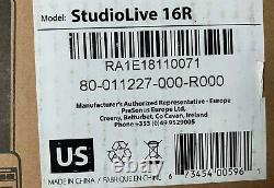 PreSonus StudioLive 16R 18-input, 16-channel Series III Stage Box and Rack Mixer
