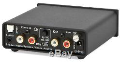 Pro-Ject AD Phono Box S Digital Phono Stage (Black) FACTORY OUTLET STOCK