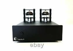 Pro-Ject Tube Box S Phono Stage Black New