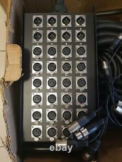 Pulse Stage Box 32-Way 24/8 XLR Multicore 30m